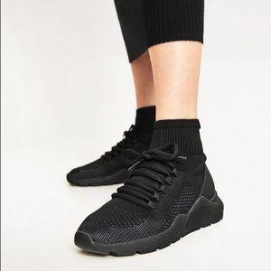 Zara Stretch Knit Sock Designer Inspired Sneakers